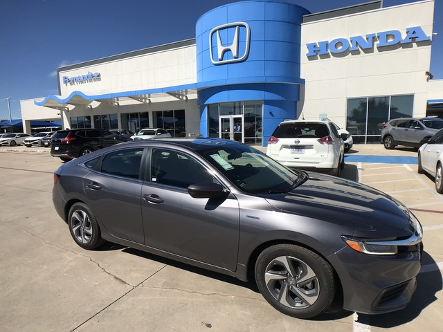 New 2019 Honda Insight Lx Sedan In San Antonio Ke009842 Fernandez