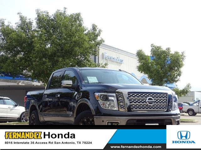 Pre-Owned 2017 Nissan Titan Platinum Reserve Four Wheel Drive Short Bed