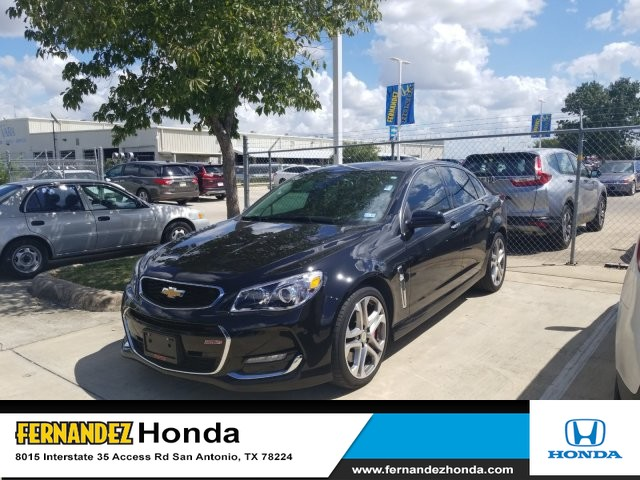 Pre-Owned 2017 Chevrolet SS 4 Dr