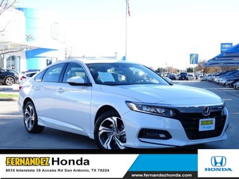 Certified Pre-Owned 2018 Honda Accord Sedan EX-L 1.5T