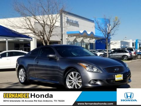 Pre-Owned 2012 INFINITI G37 Coupe Journey